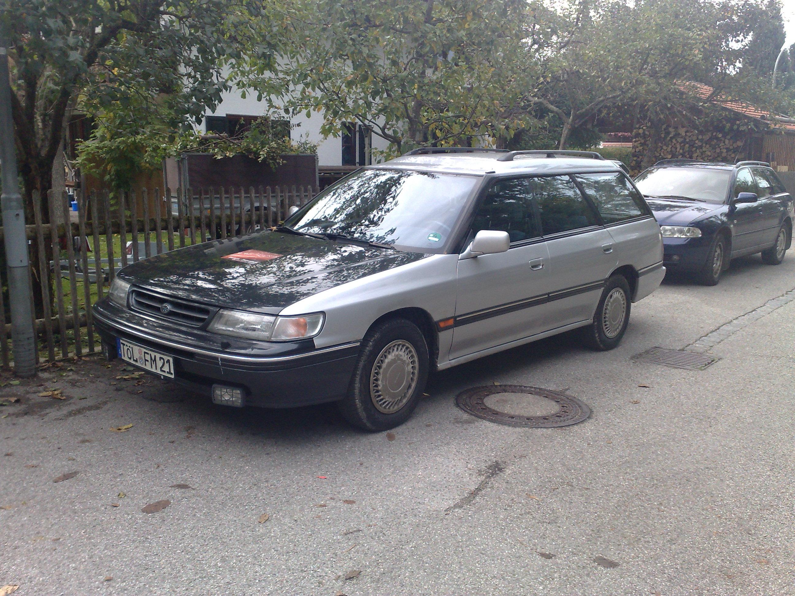 Erstes Eastside-Wüstenmobil - Ein Subaru Legacy