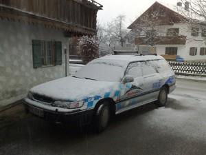 Subaru im Schnee