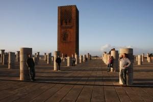 Agenten im Ausland (Turm der nie fertig gebauten Hassanmoschee)