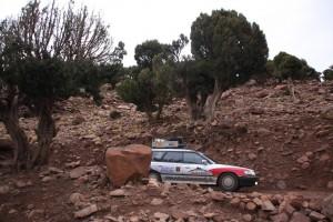 Subaru im Antiatlas