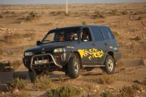 Eastside Nissan in Action (auf dem Weg zur Düne)
