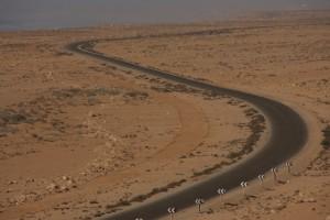 """""""Kurvige Straße"""" in der Westsahara"""