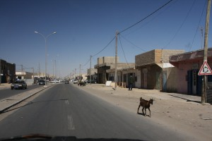 Hauptstraße in Nouadibhou