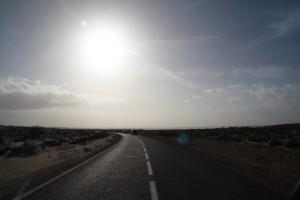 Straße in der Westsahara