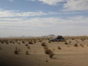 Subaru auf der Piste