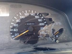 Endkilometerstand - 233029 km !